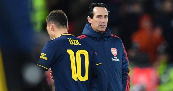 Emery Janji Kembali Berikan Menit Bermain Kepada Ozil