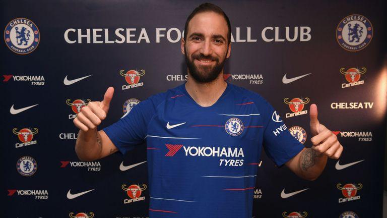 Higuain Akan Sukses di Chelsea