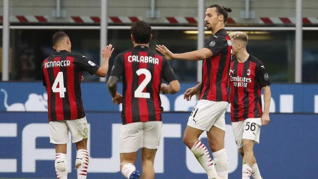 Hasil Pertandingan Inter Milan Vs AC Milan Skor 1-2